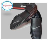 รองเท้าคัชชูผู้ชาย พื้นเย็บ สีดำ2