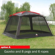 Outdoor Awning Camping Tent Barbecue Awning Cooking Tent Beach Gazebo Canopy Tent