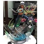 海賊王 航海王 羅 gk公仔 模型 翻模拆擺 非火影忍者gk pop 海賊王 魯夫索隆等鳴人