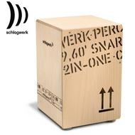【非凡樂器】Schlagwerk 斯拉克貝克 德國品牌 SWPD-CP404 貨運板條箱造型2inOne手工木箱鼓『總代理公司貨』