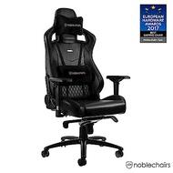 noblechairs 皇家 EPIC 系列電競賽車椅 (真牛皮經典款) - 黑