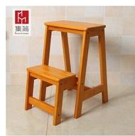梯子 實木家用多功能折疊梯椅室內移動登高梯子兩用四步梯凳爬梯子mks  瑪麗蘇