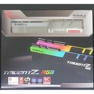 幻光戟 3200 32G (16*2) 芝奇 G.SKILL Trident Z RGB 3000 3600