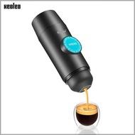 XEOLEO เครื่องทำกาแฟเอสเปรสโซแบบพกพา,เครื่องชงเอสเปรสโซ USB พร้อมพอร์ต USB สามารถพกพาได้ของขวัญ