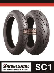 【順興】普利司通 BATTLAX SC1 120/70-13 含安裝+平衡+除蠟+氮氣 13吋輪胎