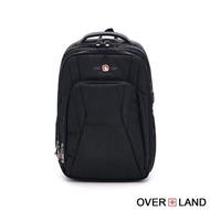 【OverLand】美式十字軍-都會玩家大容量多夾層後背包(5353)