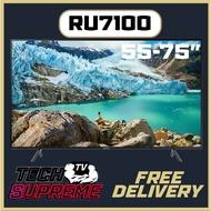 "Samsung RU7100 Smart TV 55"" 65"" 75"" TV"