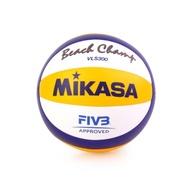 MIKASA 超纖皮製比賽及沙灘排球 黃藍白