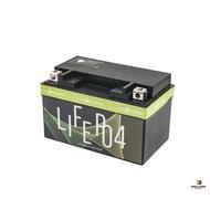 蘭陽電池 12V 5AH 鋰鐵電池 低電阻【優購愛馬】機車電池 200A/5C瞬間放電 BMS保護  YTX7A-BS