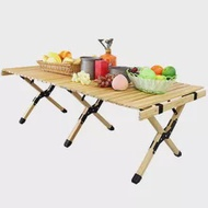 Folding Table Camping Folding Wooden Table-Portable Folding Outdoor Picnic Table