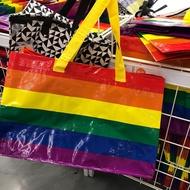 IKEA代購 彩虹購物袋 萬用購物袋 購物袋 大容量