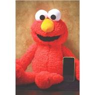 #現貨#公仔艾摩Elmo毛絨公仔玩具玩偶耶誕節生日禮物