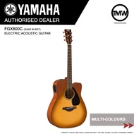 READY STOCKS - Yamaha FGX800C Electric Acoustic Guitar  - Absolute Piano - The Music Works Store GA1