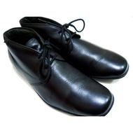 男款CAMPER西班牙名牌alicante輕量化黑色休閒繫鞋帶真皮鞋42號