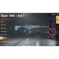 PUBG ACCOUNT M416 ICE GLACIER MAX