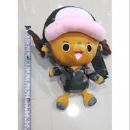 海賊王約34CM 變裝軍服喬巴娃娃