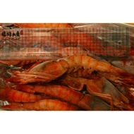 【禧福水產】巨無霸生食葡萄蝦◇$特價550元/500g±10%包/約13隻◇最低價 頂級食材/鮮甜美味 餐廳團購 可批發