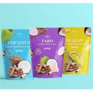 《來自泰國的超新品!》泰鑽 - 椰子/榴槤/芋頭捲 100g/袋