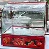 二手KingCook弧型保溫櫥/熱食展示櫥/玻璃保溫櫥/保溫櫃/保溫展示櫥/DH-2P