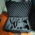 大疆DJI FPV 配件收納箱無人機手提箱安全保護箱配件防水箱