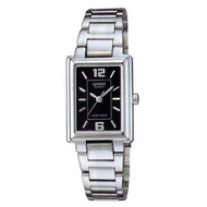 CASIO นาฬิกาข้อมือผู้หญิง สีเงิน สายสแตนเลส รุ่น LTP-1238D-1ADF (ของแท้ ประกันศูนย์ cmg)