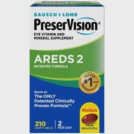 Bausch & Lomb, PreserVision AREDS 2 Formula, 210 Soft Gels