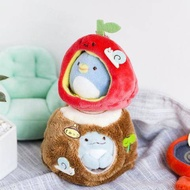 爆款折扣促銷-日本可愛墻角生物角落生物金字塔場景沙發炸蝦毛絨玩具公仔小掛件