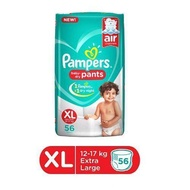 Pampers Pant Style Diapers [Extra Large] XL nappy Free Shipping - 44 Pieces