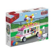 【Fun心玩】NO.7507 BanBao 邦寶積木 SNOOPY 史努比系列 冰淇淋車(樂高Lego通用) 積木