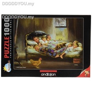 ▧✵₪✌♨﹍PERRE GAME Jigsaw Puzzles TURKEY import  1000PCS Adult puzzle Sweet home111