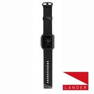 【美國LANDER】Apple Watch Series 4 40mm Moab(錶殼錶帶一體式防護 - 黑)