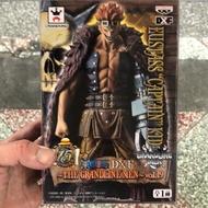 日本正版金證景品公仔 海賊王 航海王 DXF 15週年 尤斯塔斯 基德船長