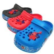 [Shop Malaysia] [READY STOCK] Spiderman Kid's Sandal's Crocs