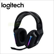羅技 G733 遊戲耳麥(黑)/無線/RGB/USB(Type A 連接埠)/僅278克/DTS Headphone:X 2.0/