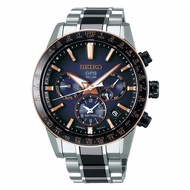 SEIKO ASTRON GPS雙時區鈦金屬太陽能腕錶/5X53-0AA0D/SSH007