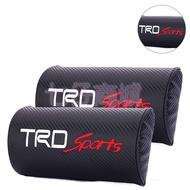 豐田 Toyota TRD 改裝 碳纖維 頭枕 靠頭枕 護頸枕 wish Altis Yaris vios Camry