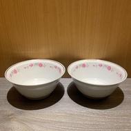 早期大同磁器 大同磁碗 大同瓷器 瓷器 瓷碗 花朵瓷碗 湯碗 湯鍋