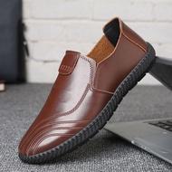 รองเท้าผู้ชายรองเท้าหนังชายรองเท้าหนังชายรองเท้าคัชชู ผชcasual Shoes Men💥LISA Store💥