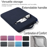 Handbag Sleeve Case For Microsoft Surface Go 2 10.5 2nd Gen 2020 Waterproof Pouch Bag Case For Surface Go 2018 10 .0 Funda Cover【With Handle】