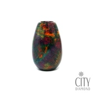 City Diamond 引雅【開運七彩玉石】長柱型花瓶造型擺件配飾-花蓮特產