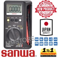 Digital Multimeters with AC True RMS Sanwa CD800B