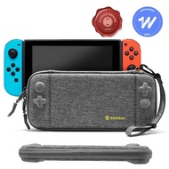 【tomtoc】任天堂Switch副廠 玩家首選二代保護收納旅行包 灰(Nintendo Switch收納保護硬殼包)