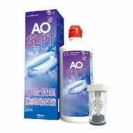 <愛爾康>AO雙氧隱形眼鏡保養液 360ml (軟式隱形眼鏡)