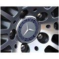 現貨-BENZ賓士藍黑稻穗款鋁圈蓋輪圈蓋 C300 E250 s320 A180 GLA CLK w211 w204