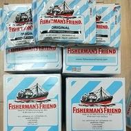 (現貨)老船長 FISHERMAN'S FRIEND 喉糖 Original 口味 原味