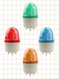 1pcs DC 12V 24V AC 110V 220V LED-2071 สีแดงสีส้มสีเขียวสีฟ้าคำเตือนโคมไฟไซเรนอุตสาหกรรมคำเตือนไม่มีBuzzer
