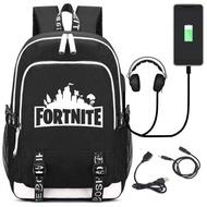 ใหม่ Fortnite เกม Fortnite Battle Royale กระเป๋าเป้สะพายหลังกระเป๋าสะพายกระเป๋านักเรียนโรงเรียน