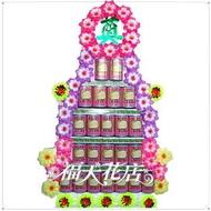A83 五層5層鮑魚罐頭座~ 弔唁罐頭塔 追思罐頭塔 喪禮罐頭塔