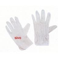 ☆SIVO☆電子商城☆(沒有顆粒) 一般型 防靜電手套 (S 號一包10雙) ~含稅價~