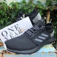 ONE YEAR_ ADIDAS PUREBOOST GO LTD CORE 黑 黑魂 編織 慢跑鞋 BB7804